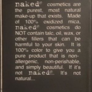 naked cosmetics Makeup - NAKED Cosmetics 4 Pack.  NEVER USED OR OPENED